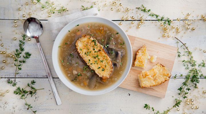 leftover roasted turkey christmas soup