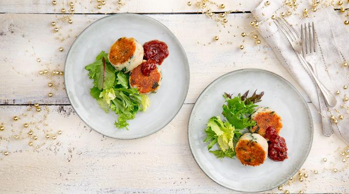 Spinach and Turkey potato Cakes