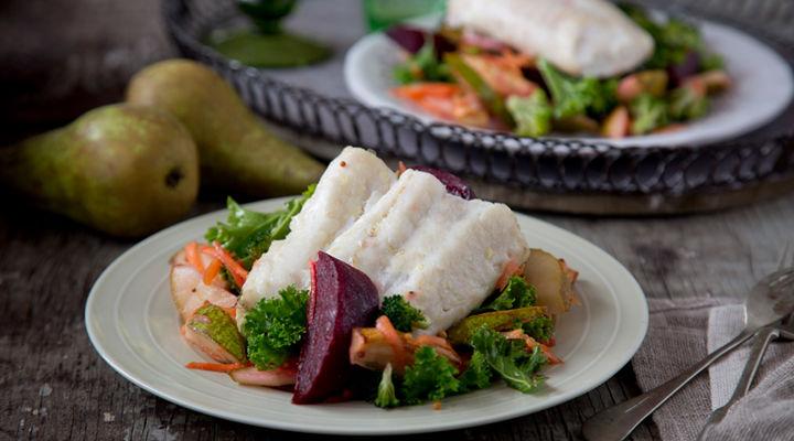 Winter Hake Salad